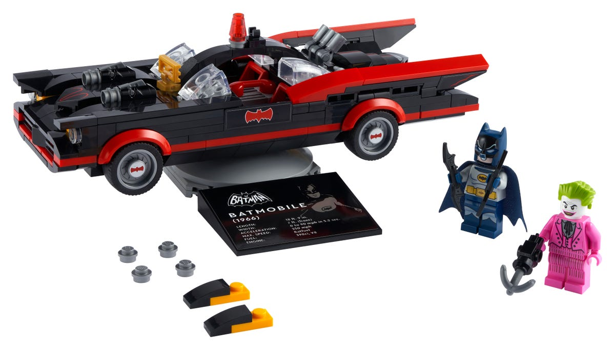 Link a Lego_Classica Batmobile™ di Batman™ della serie TV – (2)
