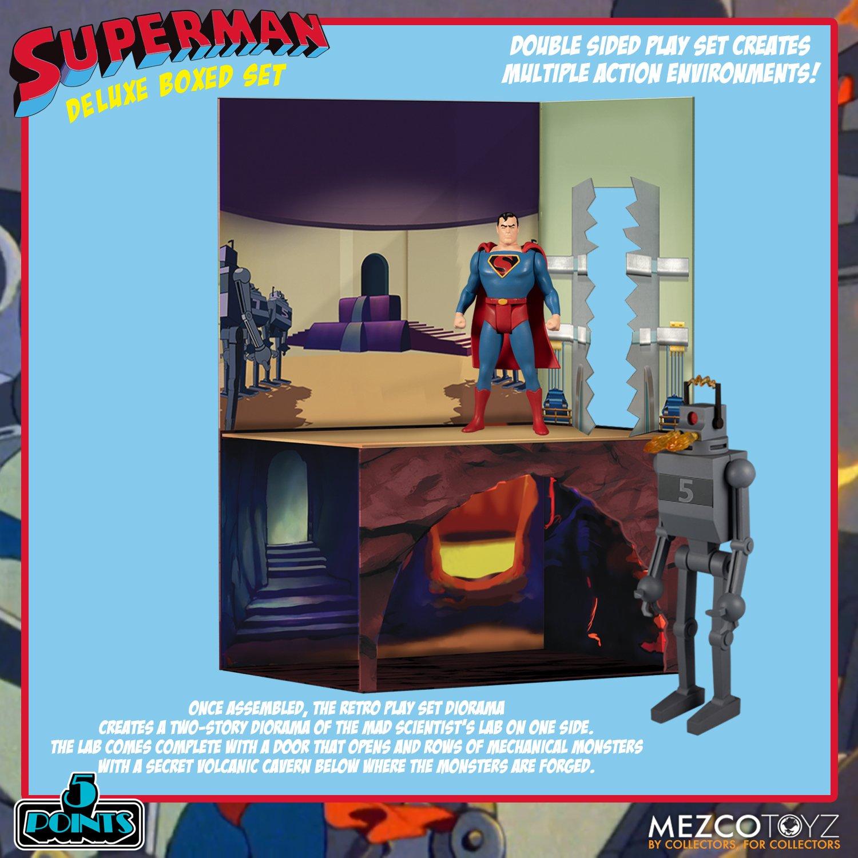 Link a Mezco_5Points_SupermanSet_02