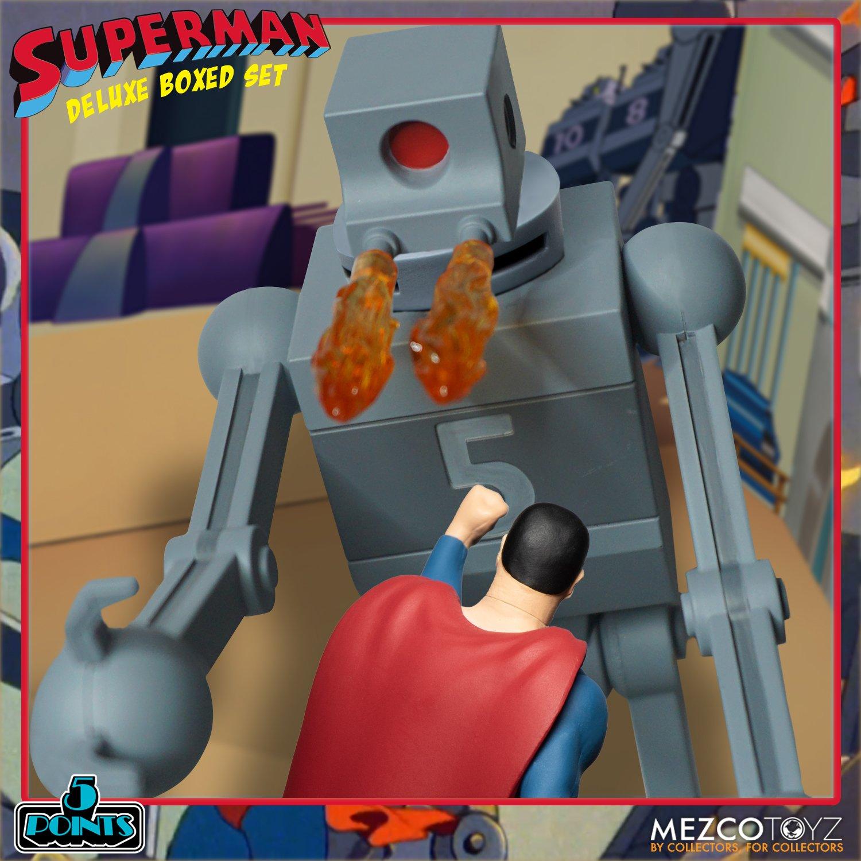 Link a Mezco_5Points_SupermanSet_07