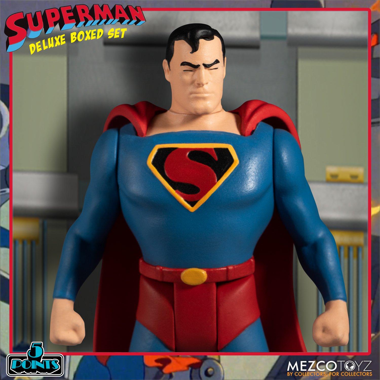 Link a Mezco_5Points_SupermanSet_11