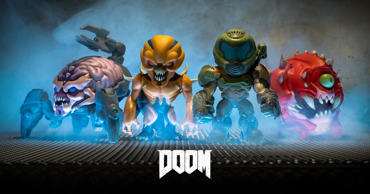 Link a Doom Eternal una collezione di figure super-deformed da Numskull – (29)
