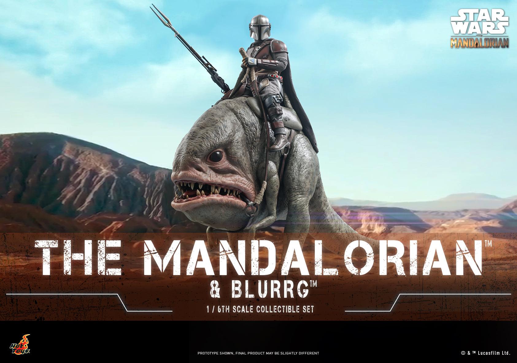 Link a Hot Toys Mando e Blurrg Set da Star Wars The Mandalorian – (1)