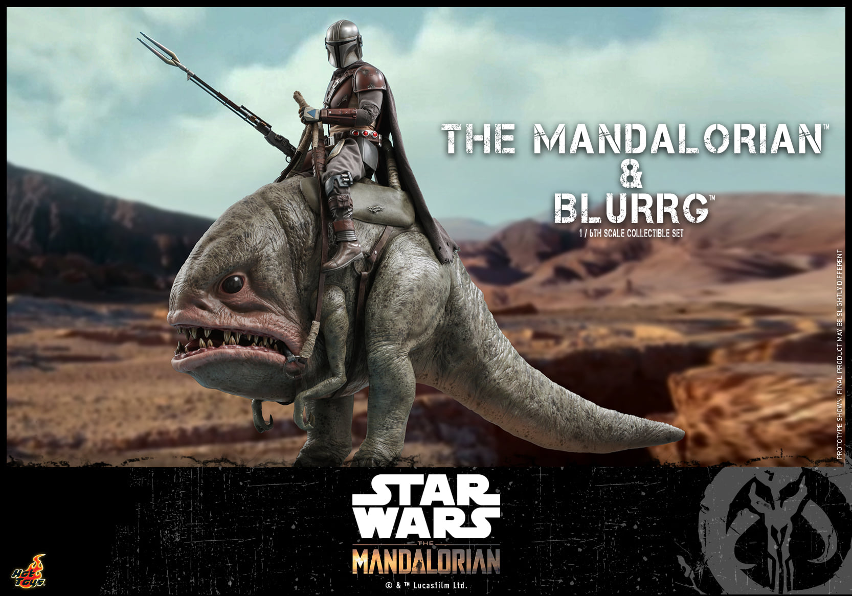 Link a Hot Toys Mando e Blurrg Set da Star Wars The Mandalorian – (10)