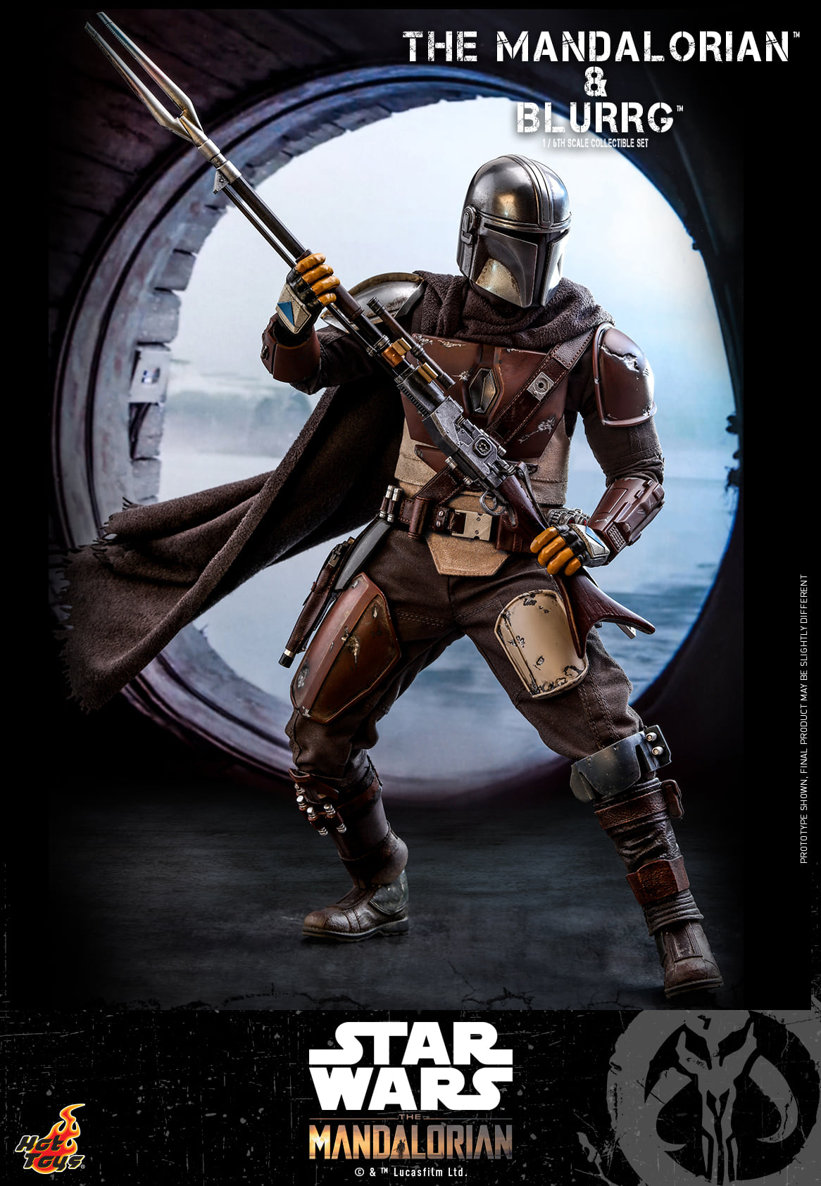 Link a Hot Toys Mando e Blurrg Set da Star Wars The Mandalorian – (11)