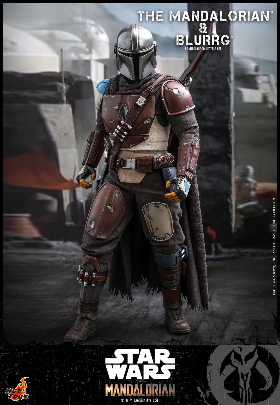 Link a Hot Toys Mando e Blurrg Set da Star Wars The Mandalorian – (12)