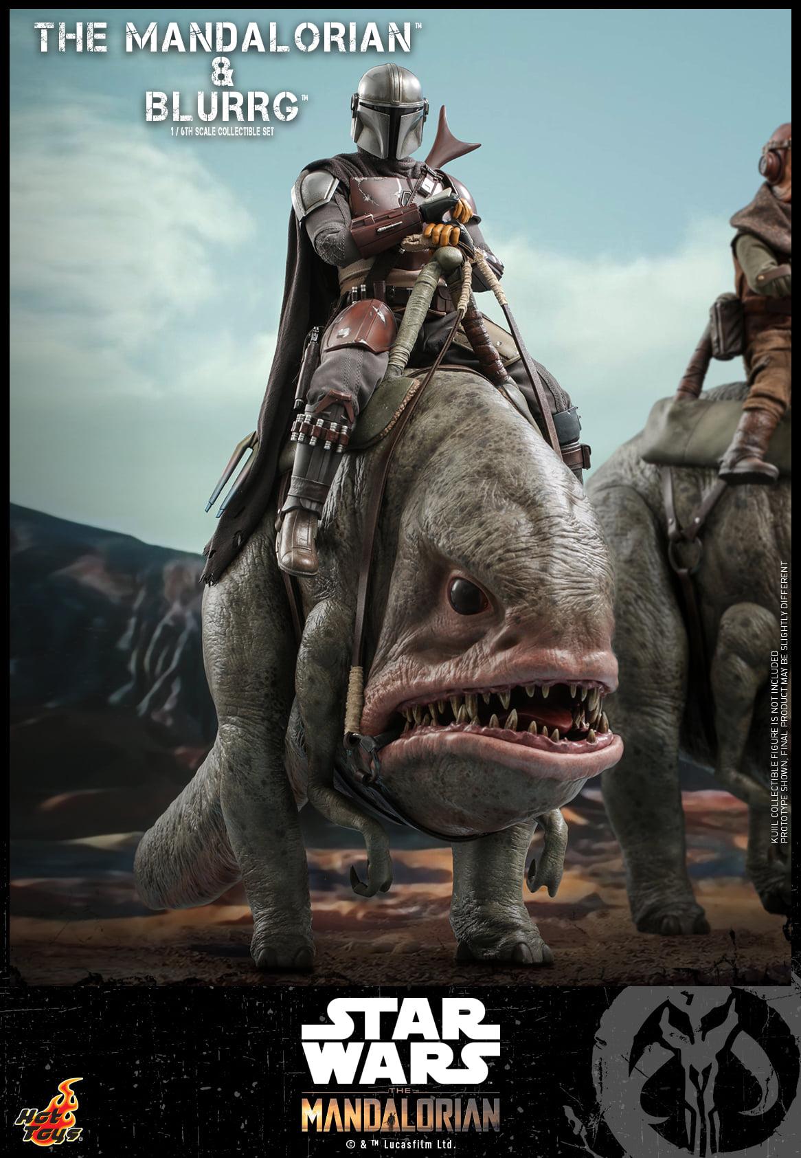 Link a Hot Toys Mando e Blurrg Set da Star Wars The Mandalorian – (3)