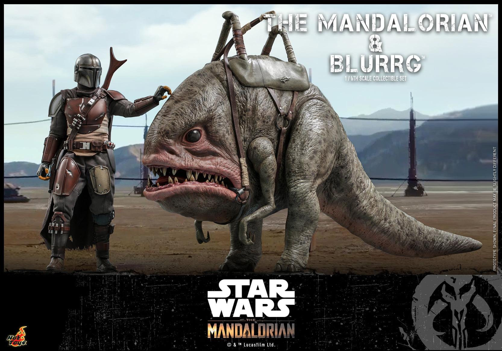 Link a Hot Toys Mando e Blurrg Set da Star Wars The Mandalorian – (4)