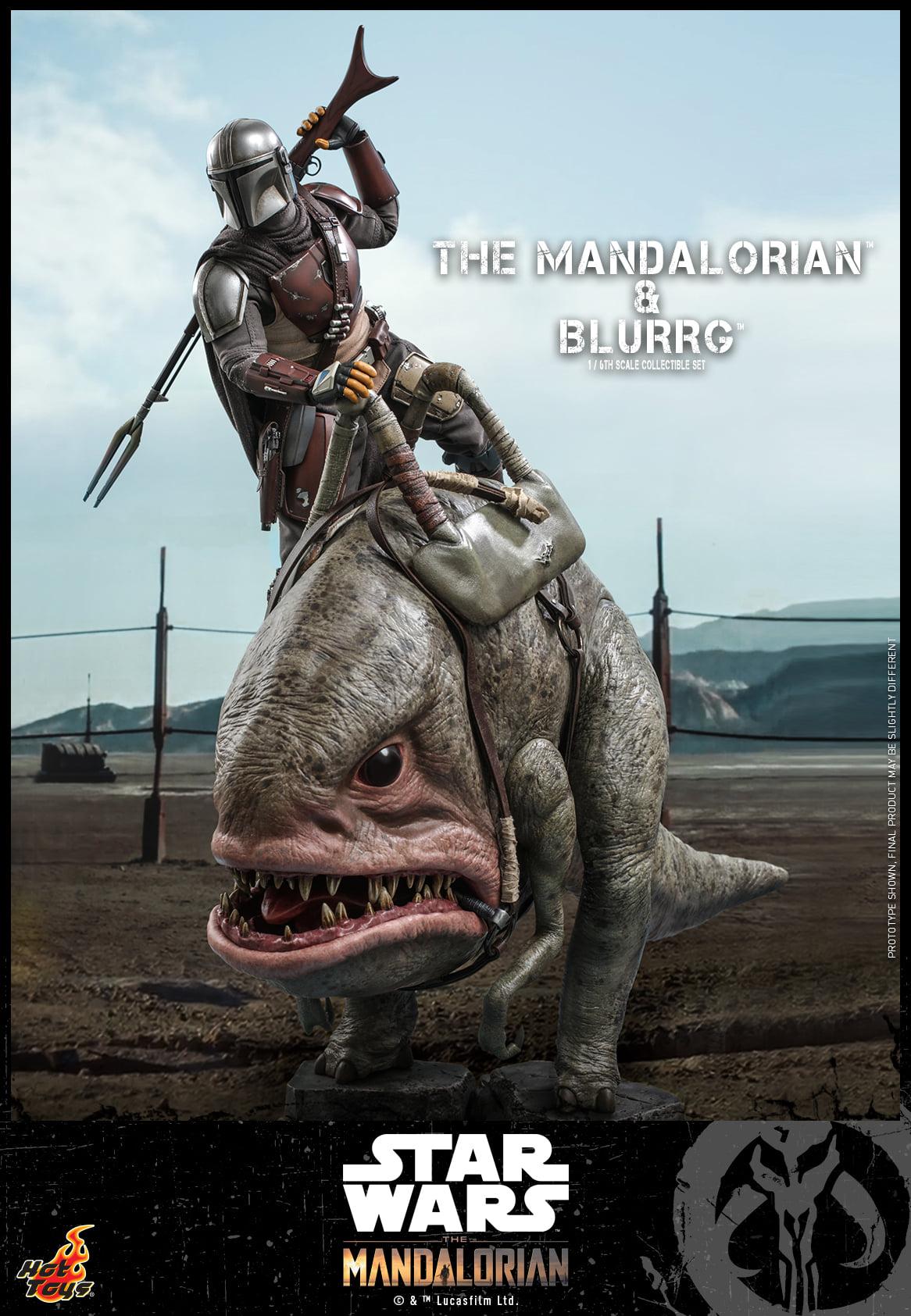 Link a Hot Toys Mando e Blurrg Set da Star Wars The Mandalorian – (7)