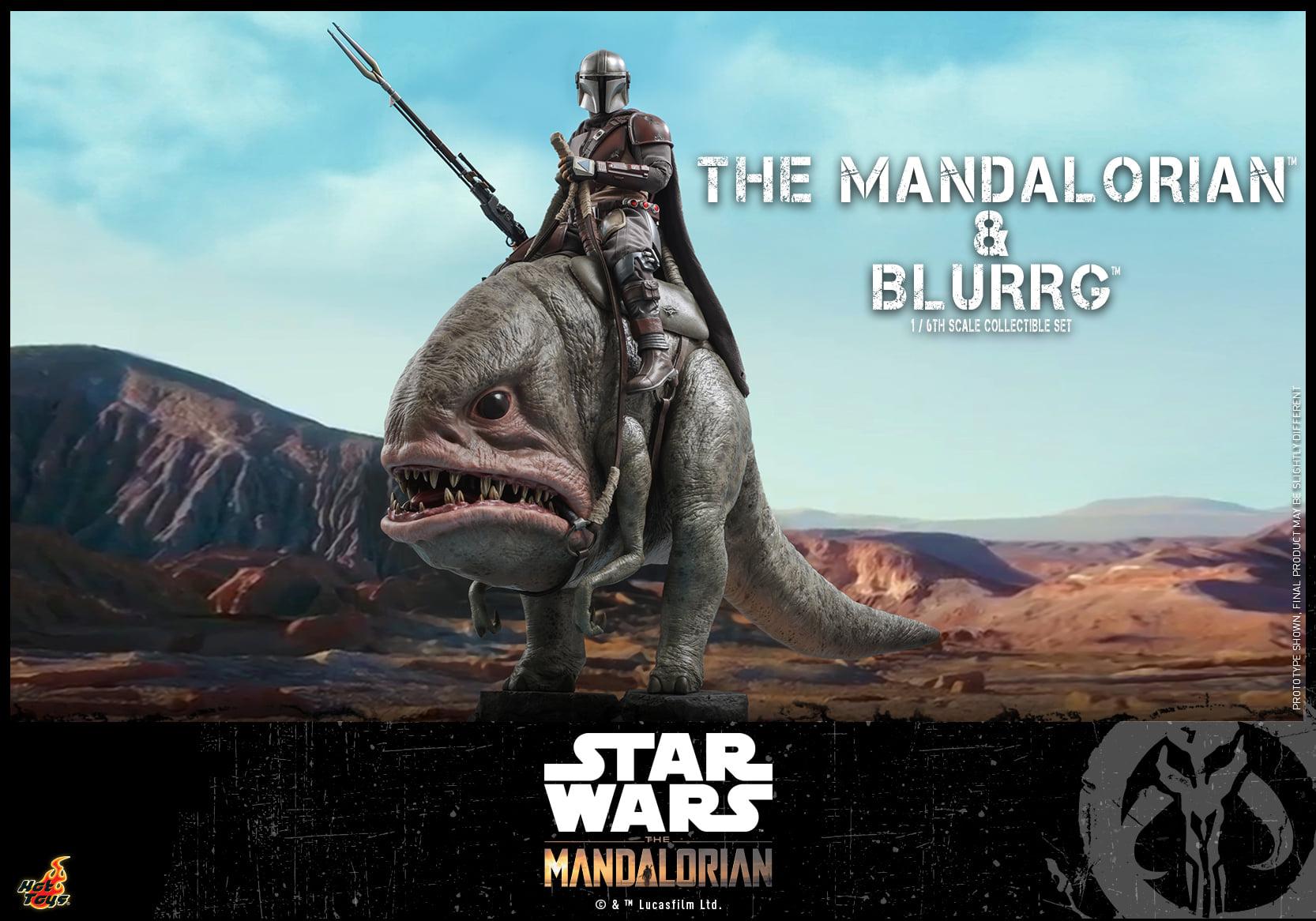 Link a Hot Toys Mando e Blurrg Set da Star Wars The Mandalorian – (8)