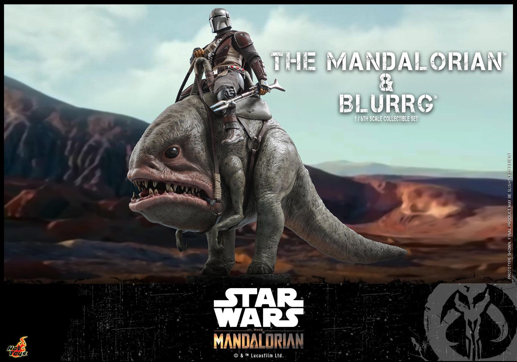 Link a Hot Toys Mando e Blurrg Set da Star Wars The Mandalorian – (9)