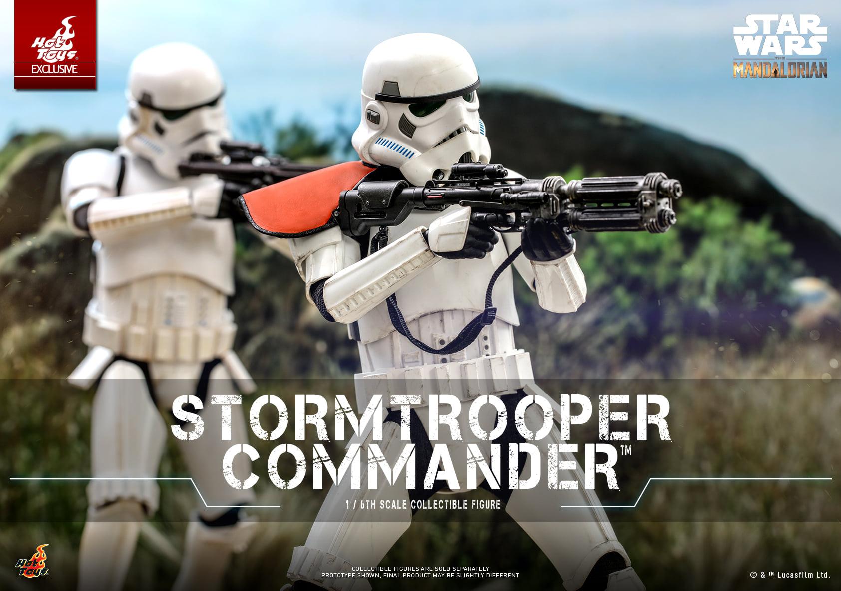 Link a Hot Toys Stromtrooper Commander da Star Wars The Mandalorian – (1)
