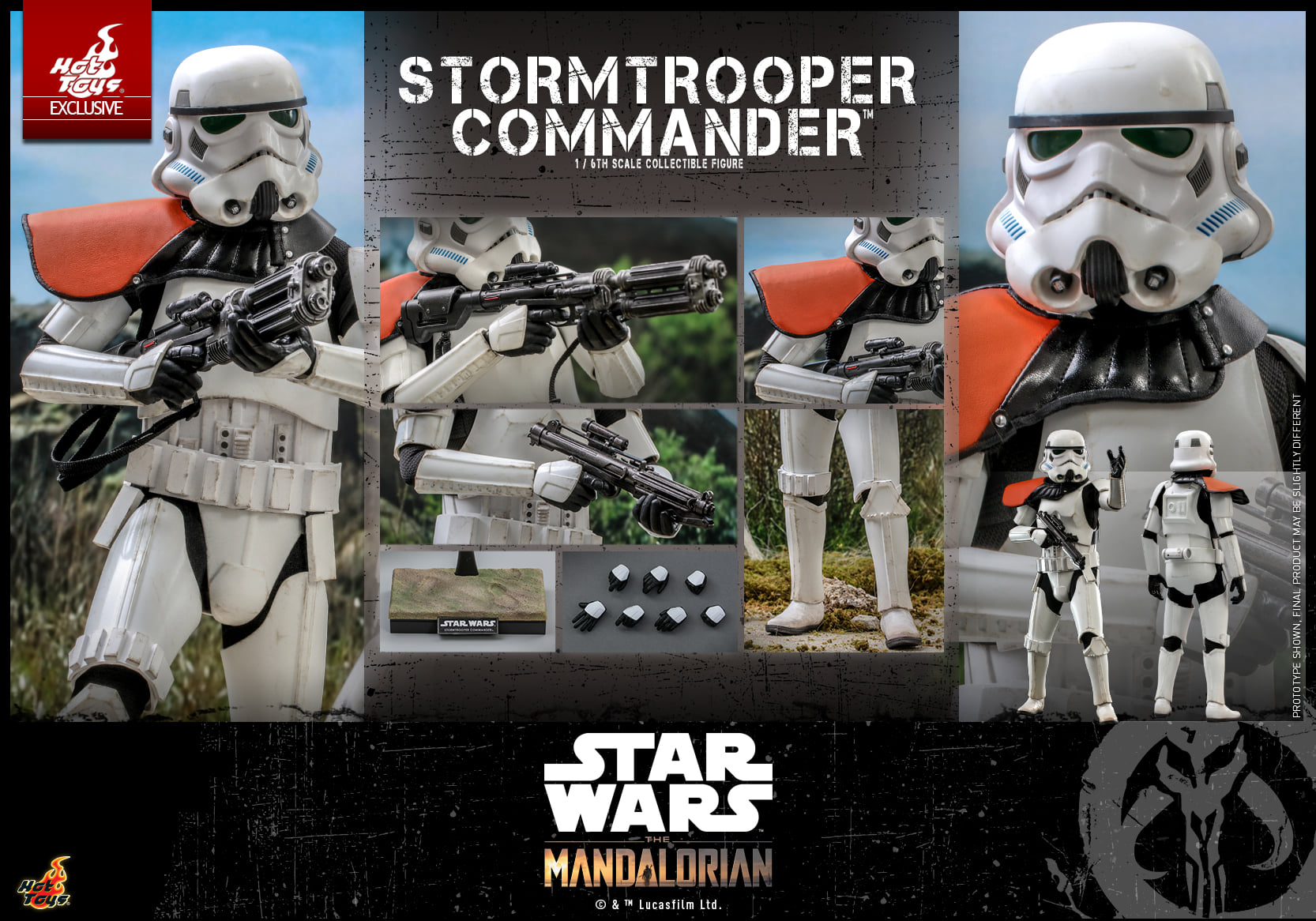 Link a Hot Toys Stromtrooper Commander da Star Wars The Mandalorian – (16)