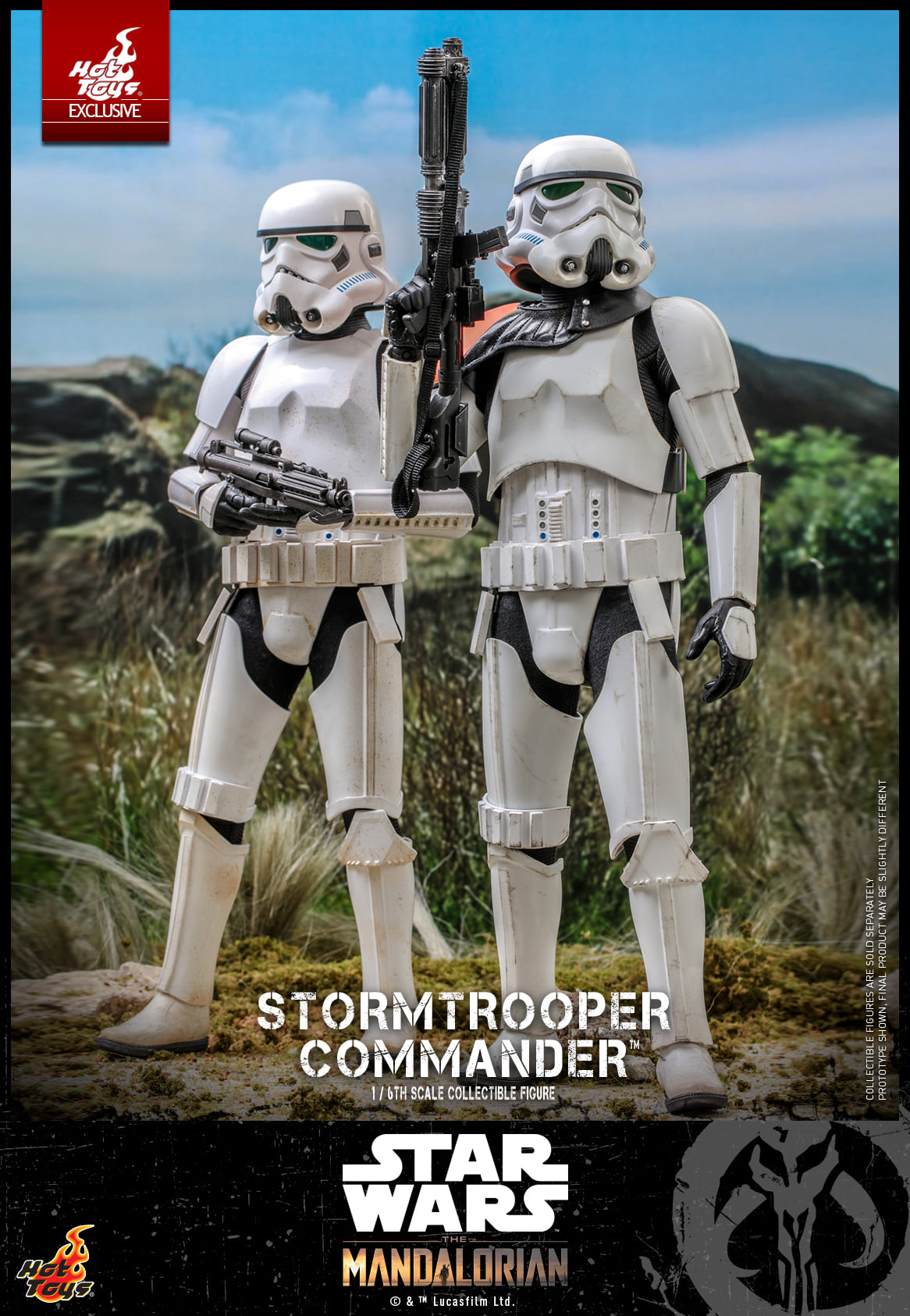 Link a Hot Toys Stromtrooper Commander da Star Wars The Mandalorian – (5)