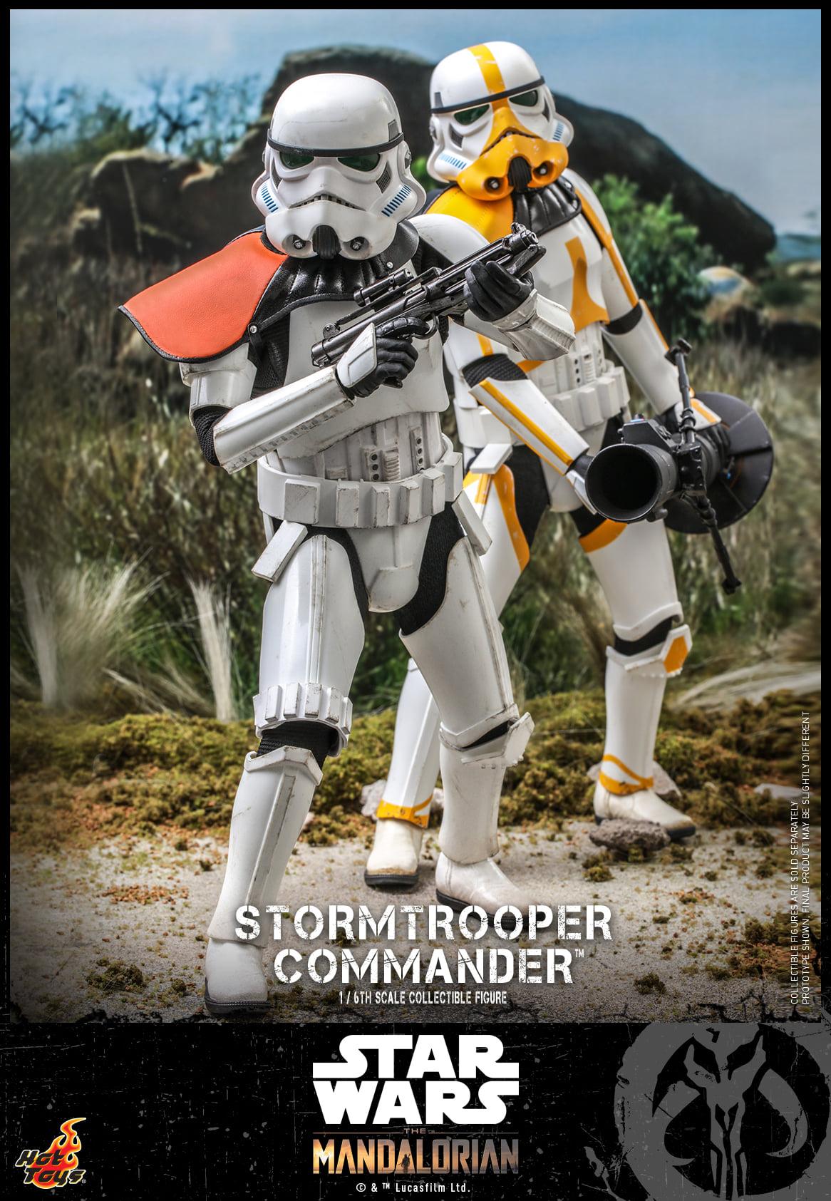 Link a Hot Toys Stromtrooper Commander da Star Wars The Mandalorian – (6)