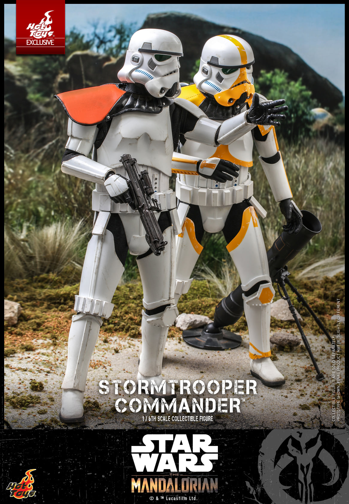 Link a Hot Toys Stromtrooper Commander da Star Wars The Mandalorian – (7)