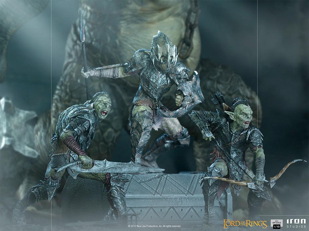 Link a Iron Studios 3 statue per gli Orchetti da Il Signore degli Anelli – (5)