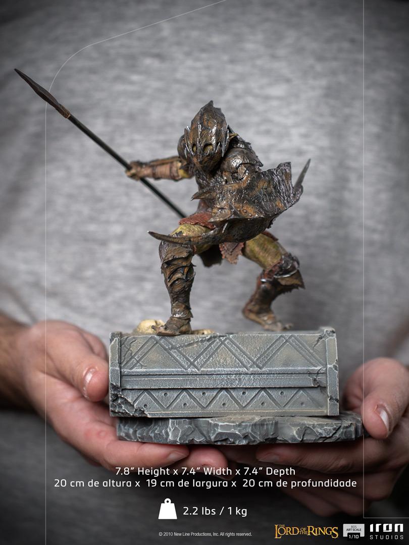 Link a Iron Studios 3 statue per gli Orchetti da Il Signore degli Anelli – (6)