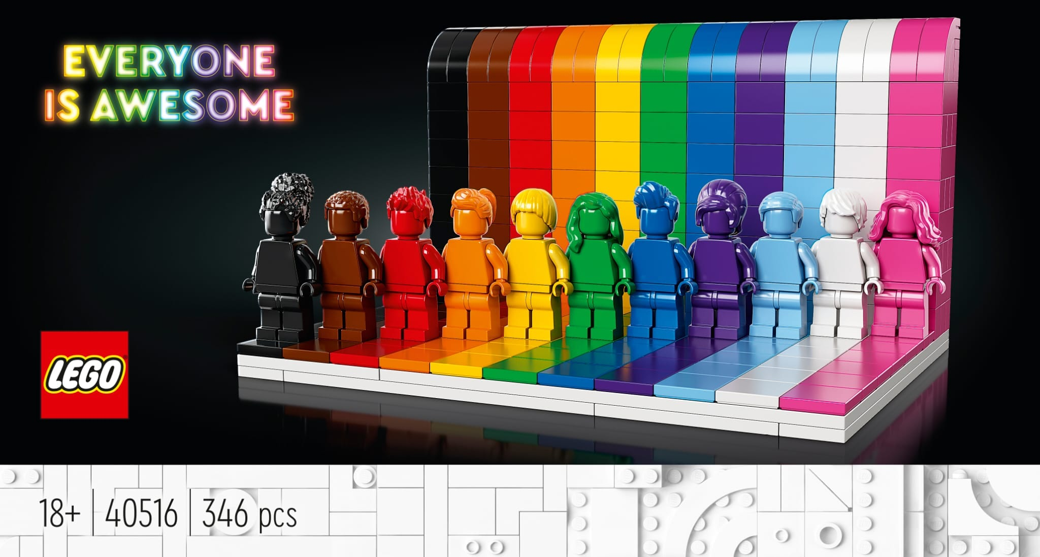 Link a LEGO Everyone is Awesome Il set 40516 celebra il Pride Month – (20)