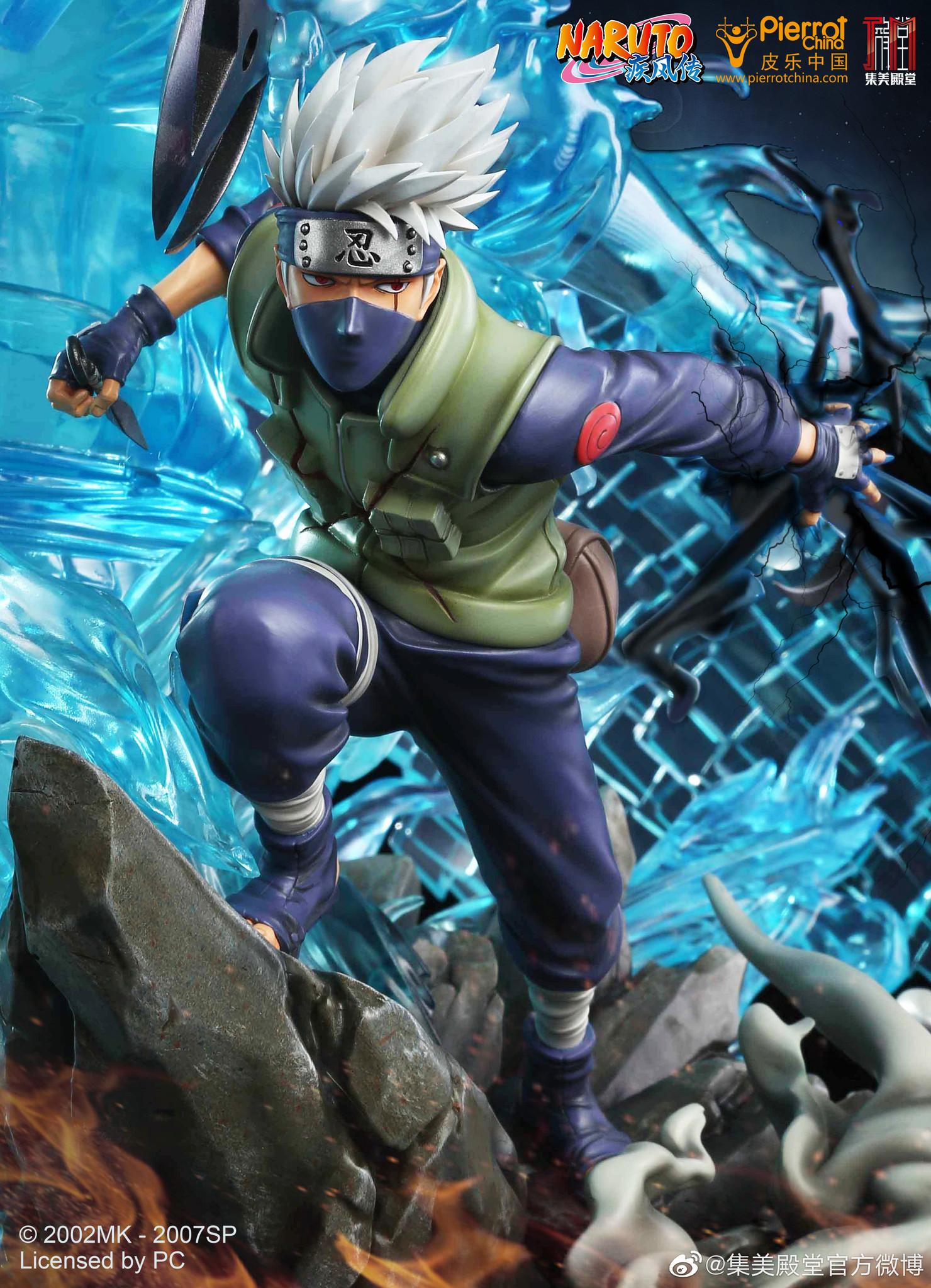 Link a Naruto Kakashi e il suo Susanoo nella statua di Jimei Palace – (3)