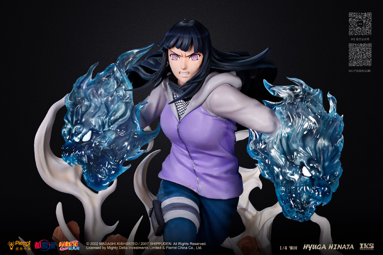 Link a Naruto la statua di Hinata Hyuga da Iron Kite Studio – (1)