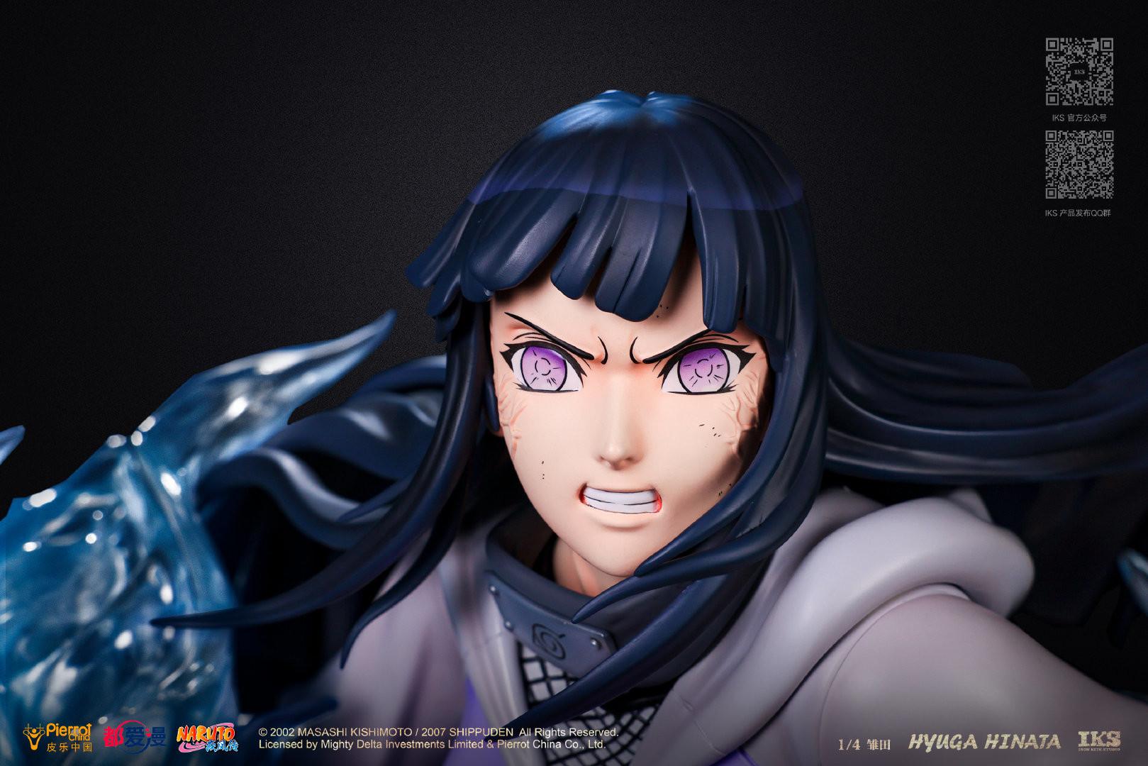 Link a Naruto la statua di Hinata Hyuga da Iron Kite Studio – (3)