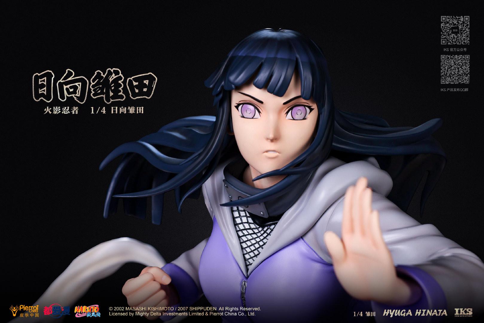 Link a Naruto la statua di Hinata Hyuga da Iron Kite Studio – (5)