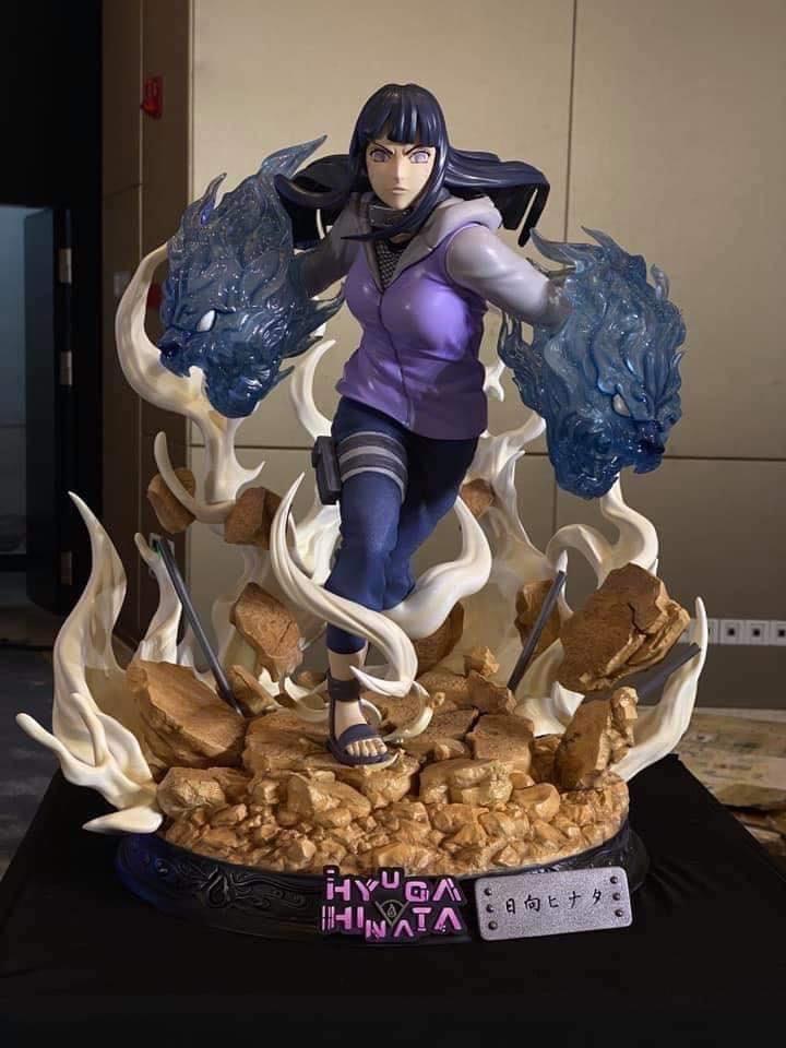 Link a Naruto la statua di Hinata Hyuga da Iron Kite Studio – (9)