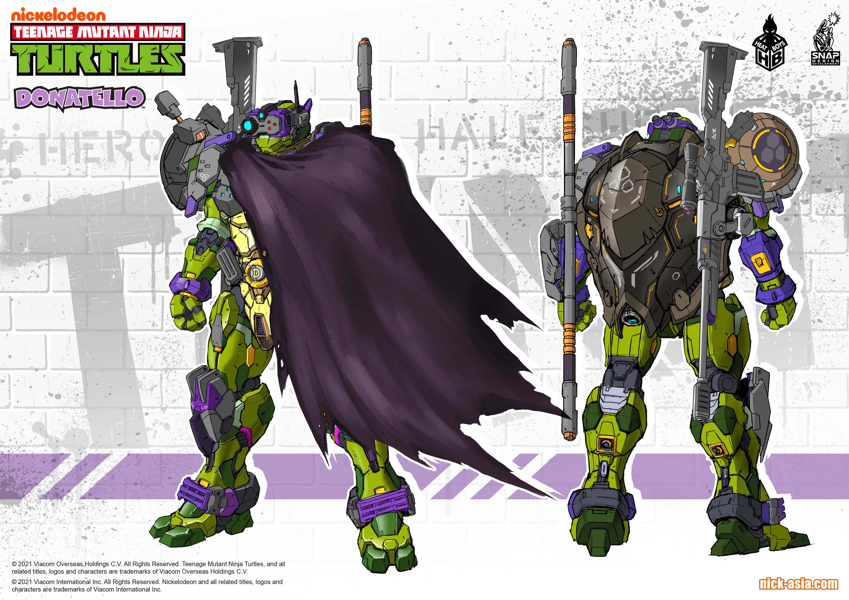 Link a Teenage Mutant Ninja Turtles prototipo per le Turtles robotiche di Heat Boys x Snap Desing – (4)