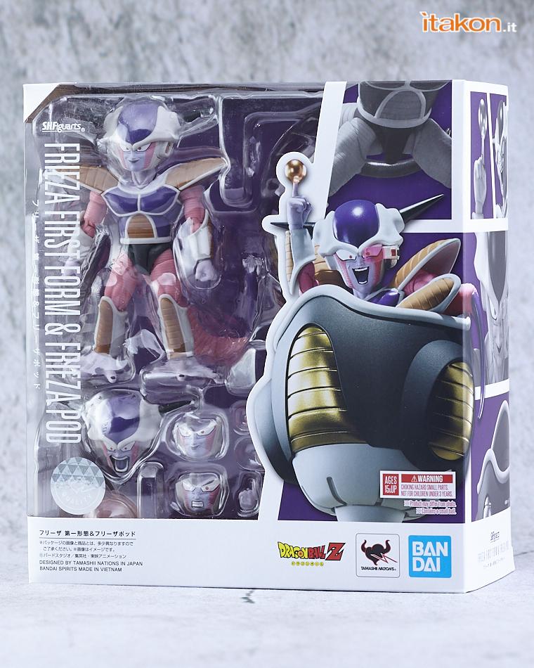 Link a Bandai Freezer (Frieza) First Form & Pod S.H.Figuarts da Dragon Ball Z – Recensione – (1)