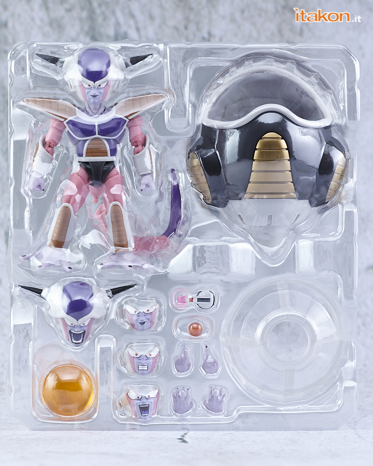 Link a Bandai Freezer (Frieza) First Form & Pod S.H.Figuarts da Dragon Ball Z – Recensione – (3)