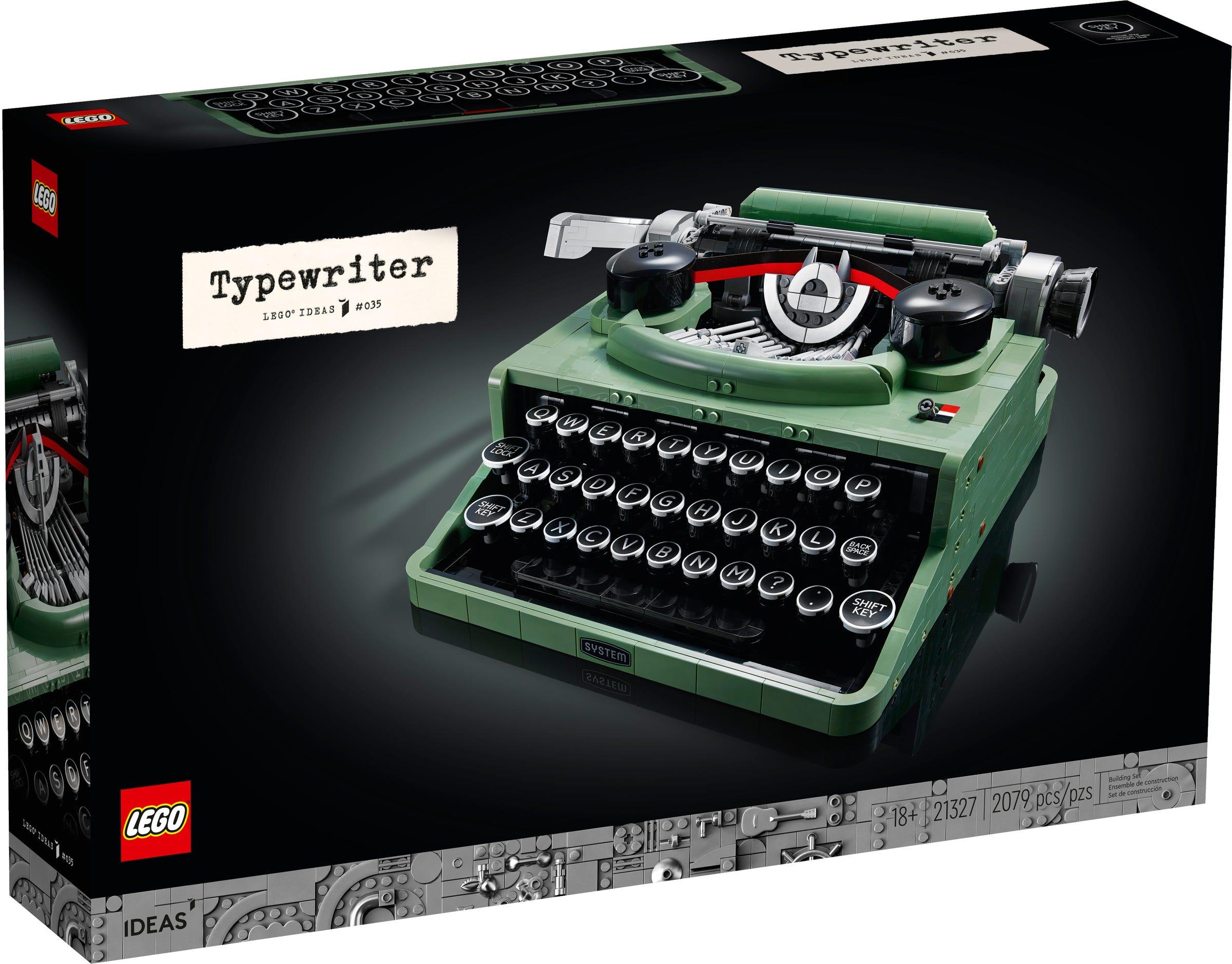 Link a LEGO Ideas arriva la Macchina da Scrivere funzionante! Set 21327 – (2)