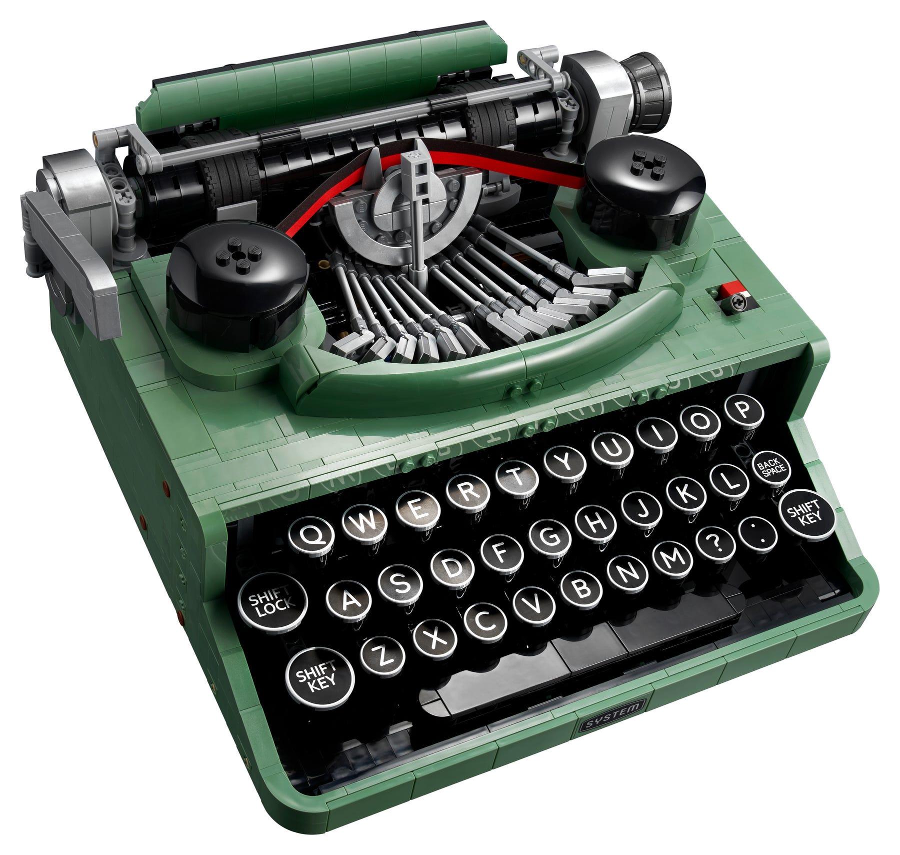 Link a LEGO Ideas arriva la Macchina da Scrivere funzionante! Set 21327 – (3)