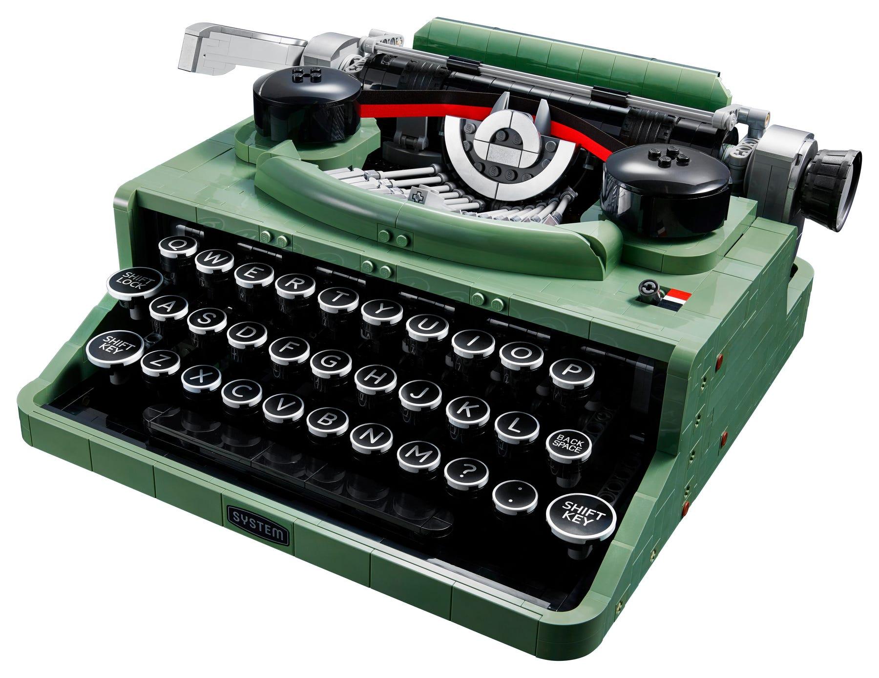 Link a LEGO Ideas arriva la Macchina da Scrivere funzionante! Set 21327 – (4)
