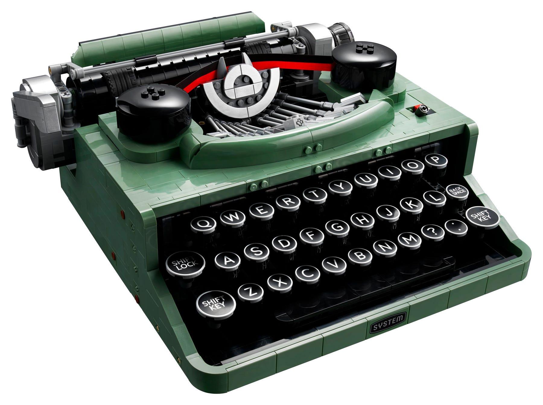 Link a LEGO Ideas arriva la Macchina da Scrivere funzionante! Set 21327 – (5)