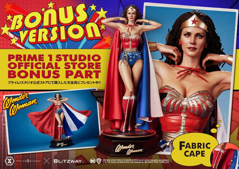 Link a La Wonder Woman di Lynda Carter nella splendida statua di Prime 1 Studio – (1)