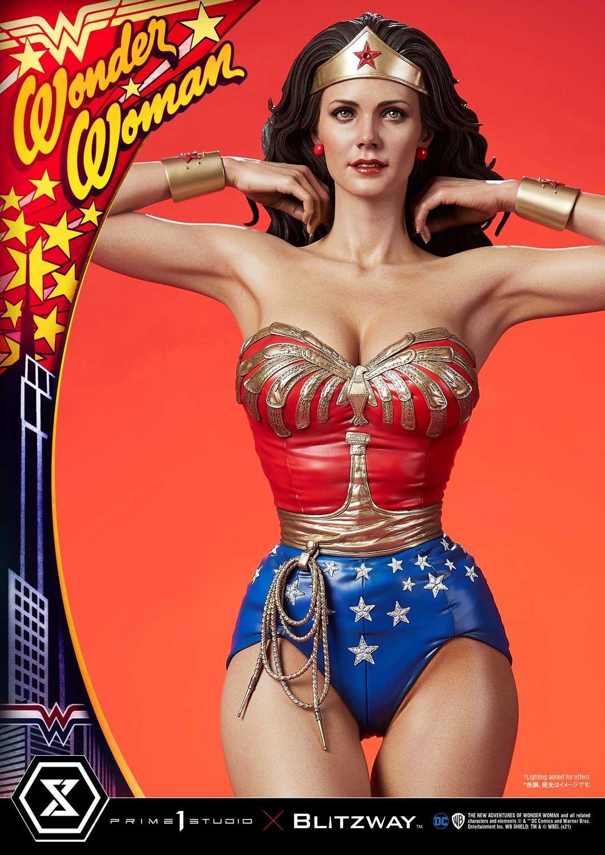 Link a La Wonder Woman di Lynda Carter nella splendida statua di Prime 1 Studio – (14)