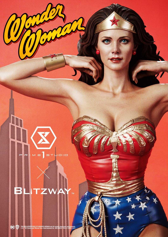 Link a La Wonder Woman di Lynda Carter nella splendida statua di Prime 1 Studio – (2)