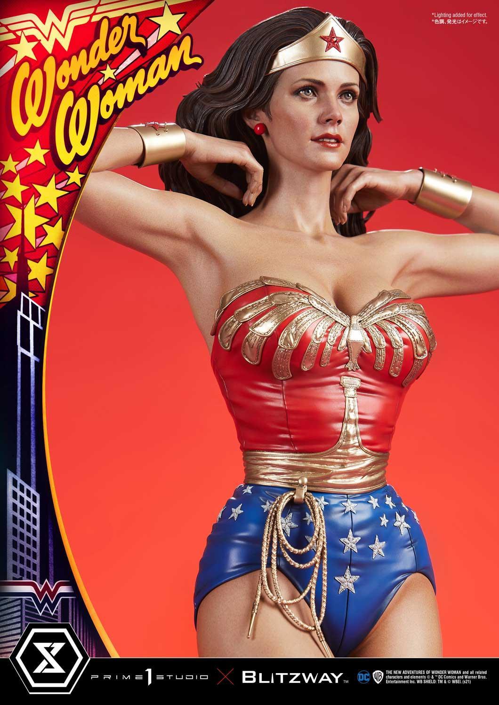 Link a La Wonder Woman di Lynda Carter nella splendida statua di Prime 1 Studio – (3)