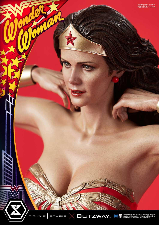 Link a La Wonder Woman di Lynda Carter nella splendida statua di Prime 1 Studio – (4)