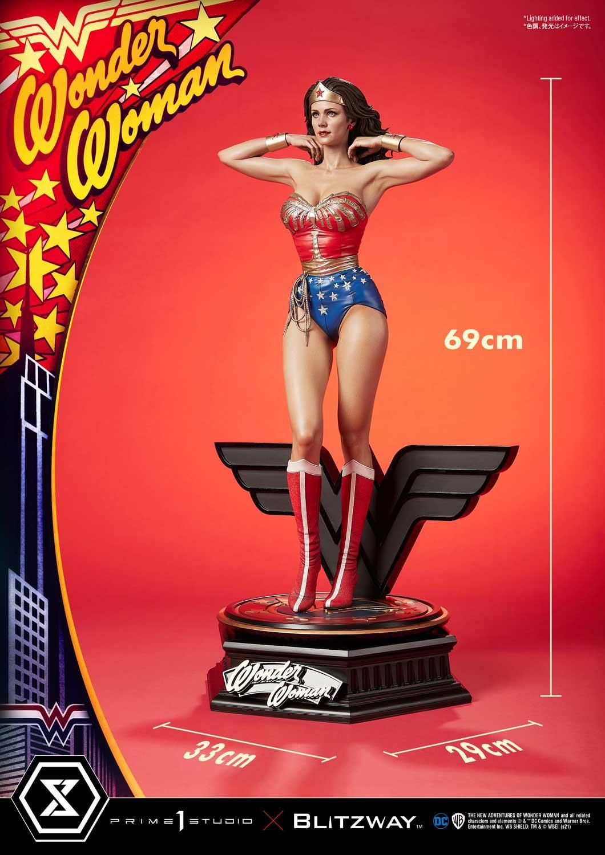 Link a La Wonder Woman di Lynda Carter nella splendida statua di Prime 1 Studio – (7)