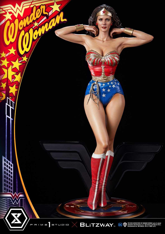 Link a La Wonder Woman di Lynda Carter nella splendida statua di Prime 1 Studio – (8)