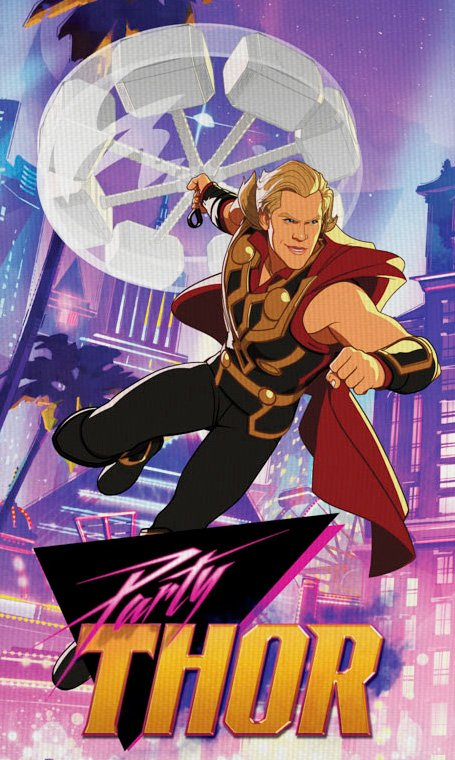 Link a Marvel's What if… Nuovi poster dei personaggi dalla serie animata Disney+ – (2)