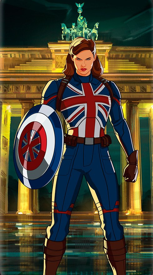 Link a Marvel's What if… Nuovi poster dei personaggi dalla serie animata Disney+ – (3)