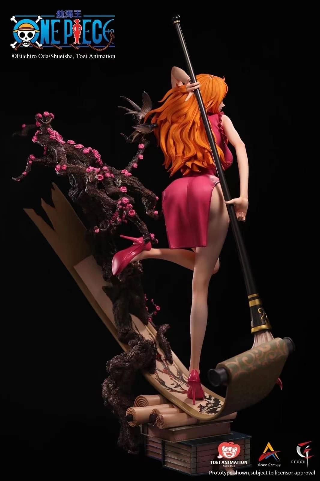 Link a One Piece presentata una statua per Nami da Epoch Studios – (2)