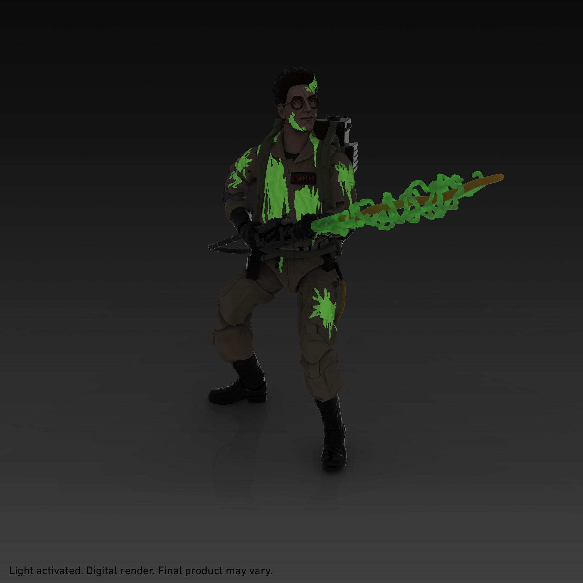 Link a Peter Venkman, Ray Stantz, Egon Spengler, and Winston Zeddemore – ghostbusters day – hasbro – glow in the dark – (9)